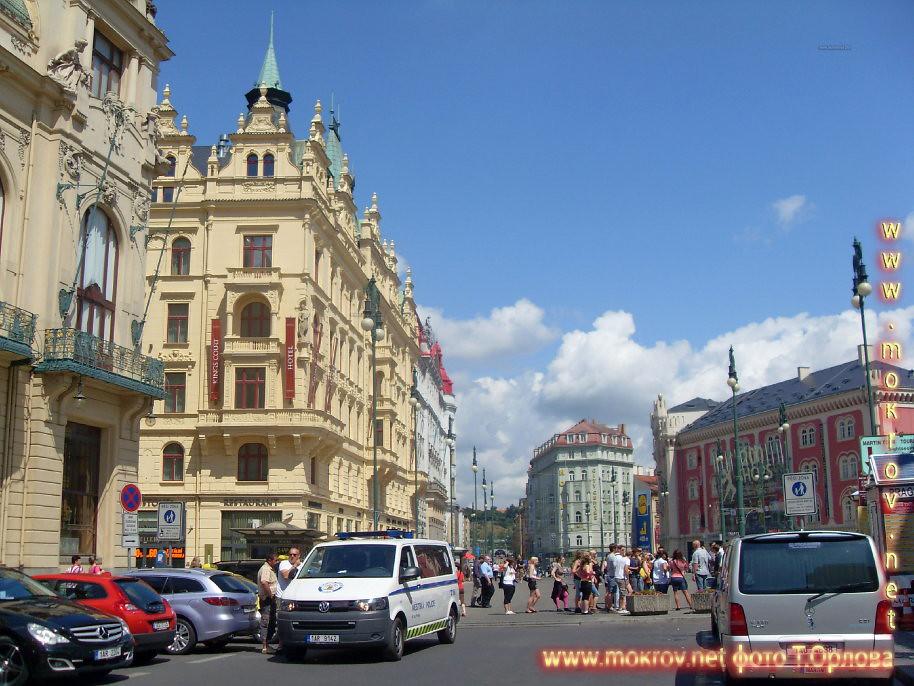 Прага — Чехия  прогулки туристов с Фотоаппаратом