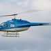 G-RUCK - 1989 build Bell 206B Jet Ranger III, inbound to Barton