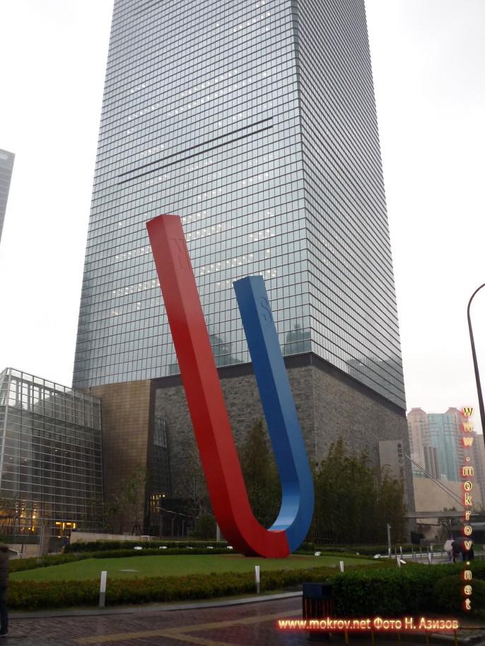 Исторический центр Шанхая в Китае фотографии