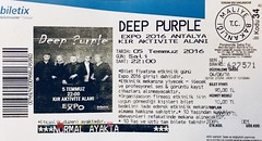 Deep Purple - Antalya Expo 2016