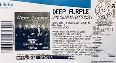 Deep Purple - Antalya Expo 2016