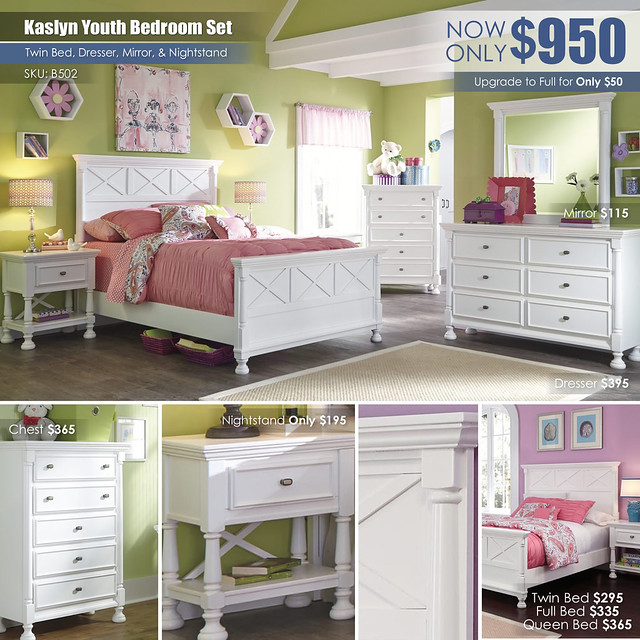 Kaslyn Youth Bedroom Collage