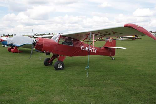 G-KFOX Denney Kitfox [PFA 172-11447] Sywell 010917
