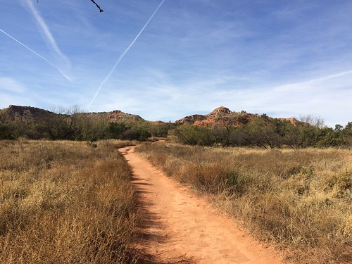 Palo Duro Lighthouse trail