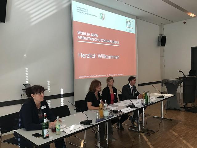 WSI/lia.nrw Arbeitsschutzkonferenz