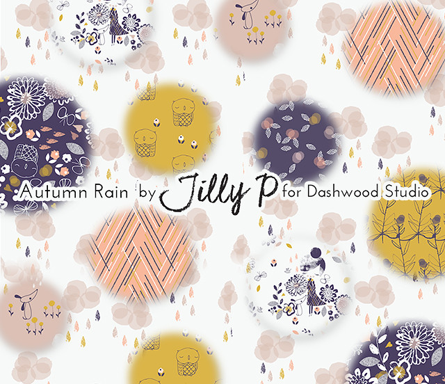 Dashwood Studio Autumn Rain Collection by Jilly P