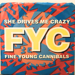 FINE YOUNG CANNIBALS:SHE DRIVES ME CRAZY(JACKET A)