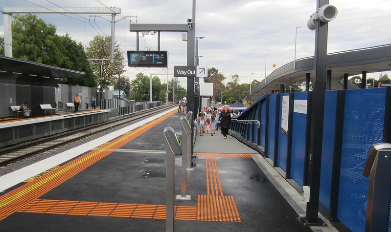 Southland Station outbound platform