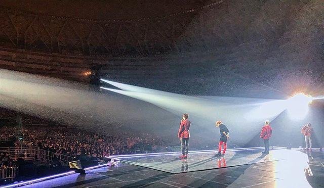 [Instagram] Touré Harris aka SouthPaw (spmusik) Osaka. Night 1/3. Big Bang: Last Dance.  #bigbang #lastdance #bigbanglastdance #osaka #japan #vsco #vscocam #kyoceradome #tourlife 2017-11-23