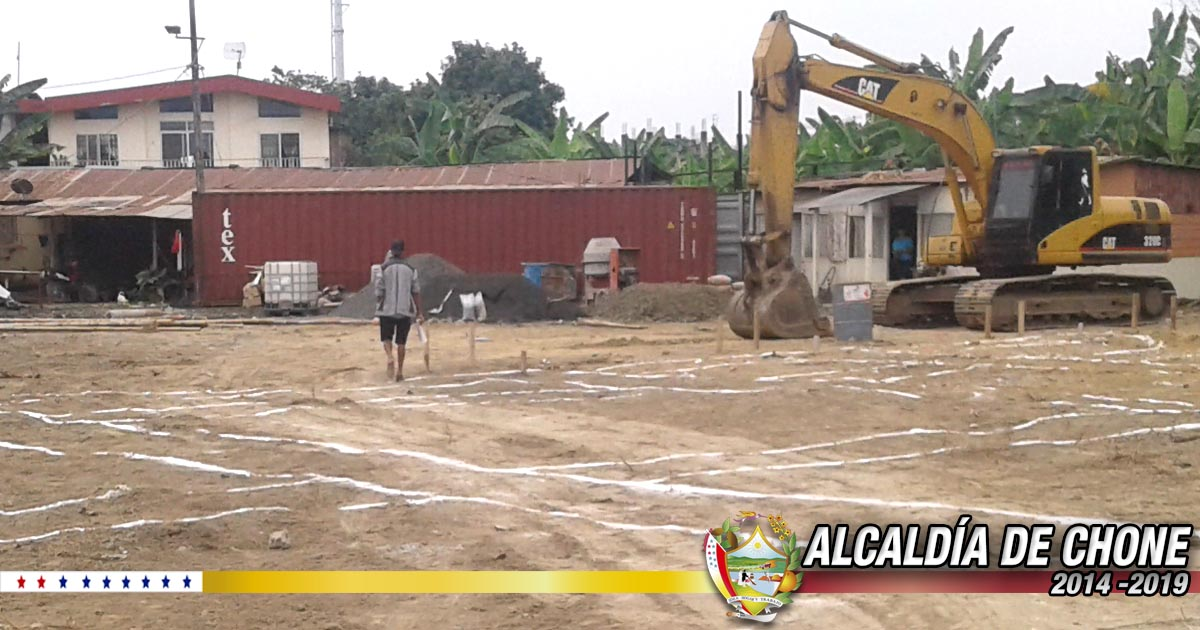 CNEL inició construcción de oficina técnica en Chone