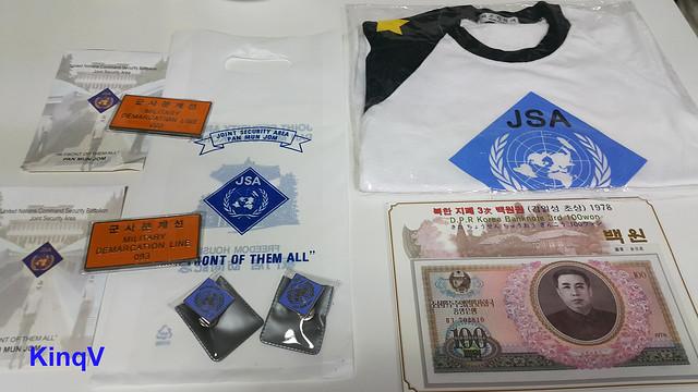 Kỉ niệm Korea DMZ - JSA