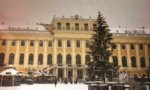 Christmas at Schonbrunn. From A Taste of Viennese Christmas