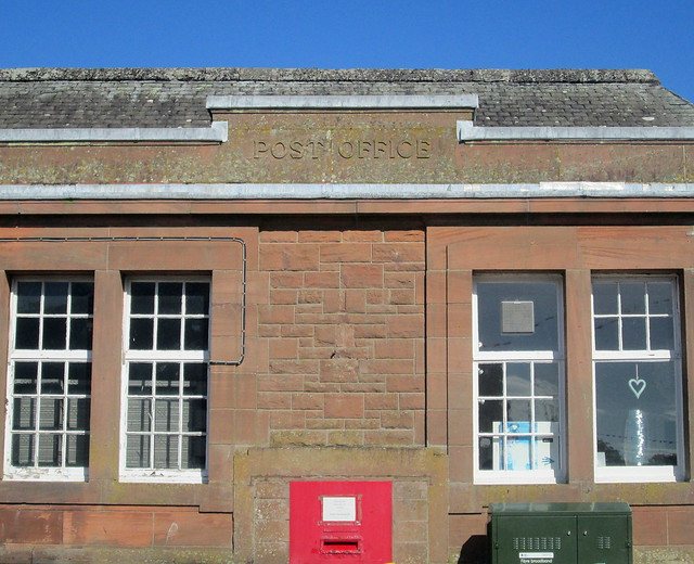 Detail, Post Office, Kirkcudbright
