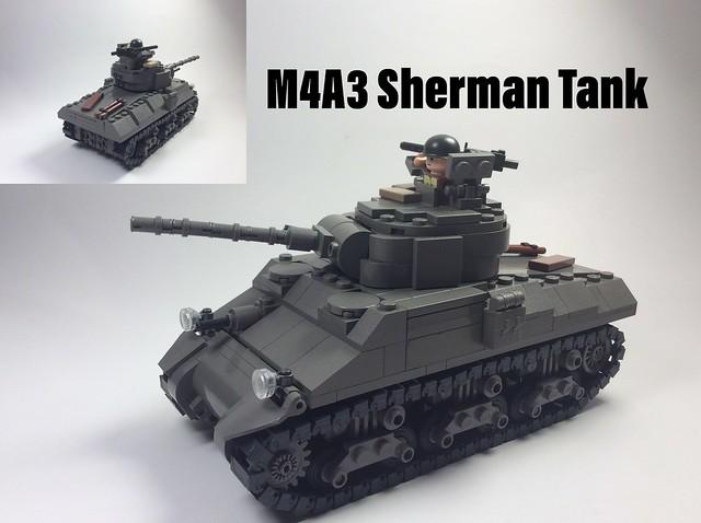 M4A3 Sherman Tank (ODG)