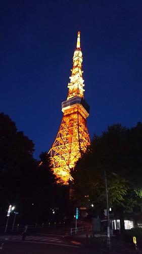 東京タワーのライトアップはオシャレ