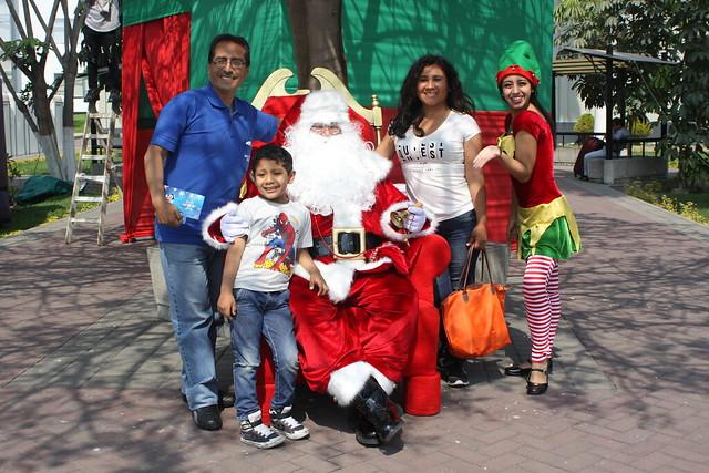 Padres e hijos disfrutaron de la tradicional Navidad del Niño Sanmartiniano 2017