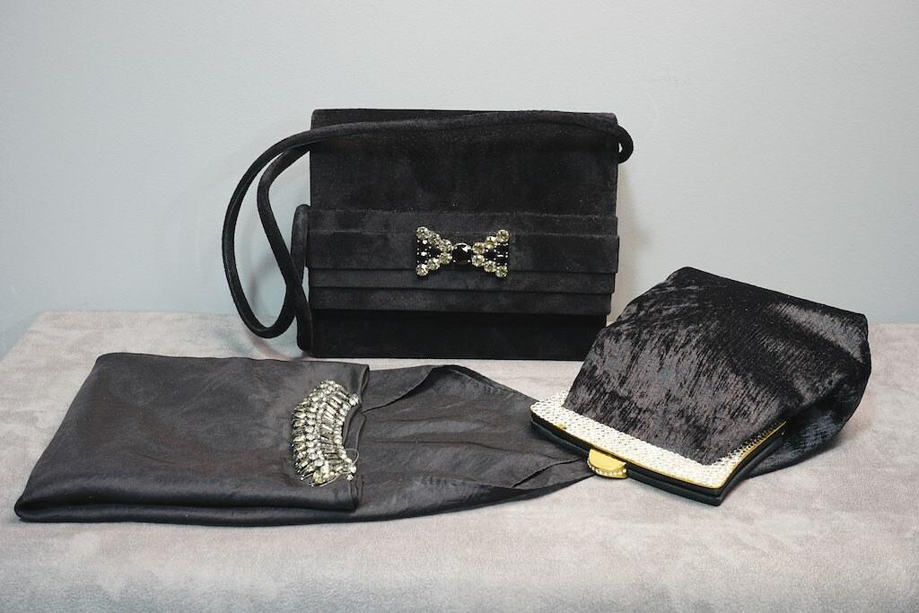 Bag nubuck & strass: Givenchy Scarf: Lanvin Small Bag: Rodo