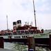 Paddle Steamer Waverley at Southsea, 21st September 1991