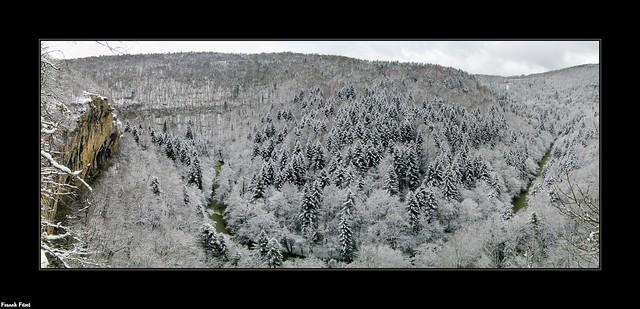 Panoramique Belvédère du Grand Saut - Alaise