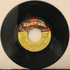 MAVIS STAPLES:A PIECE OF THE ACTION(RECORD SIDE-A)