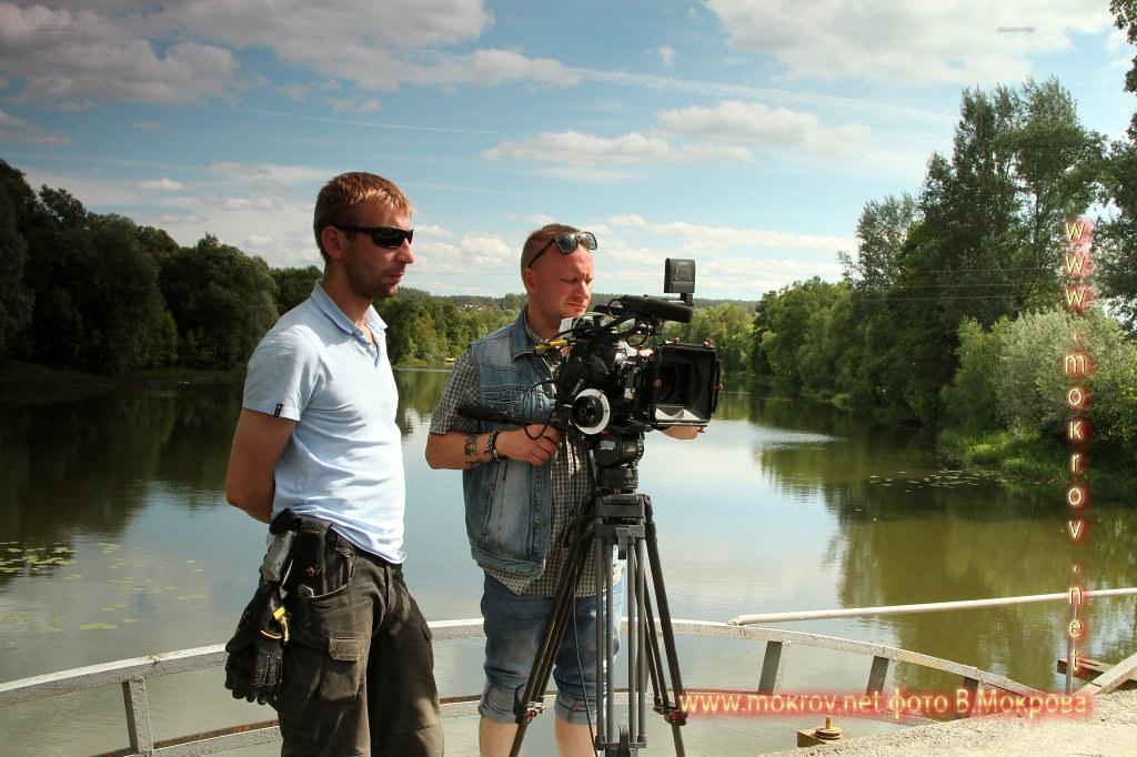 Рабочии моменты Телесериала «Морозова» с фотокамерой