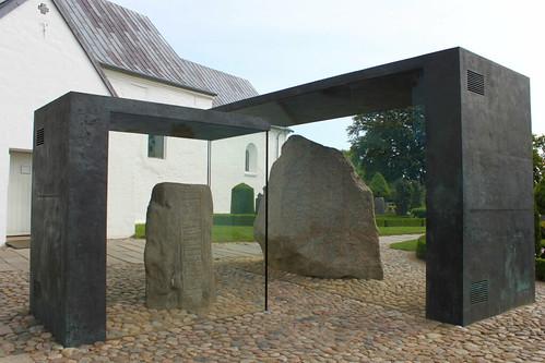 two Jelling Stones