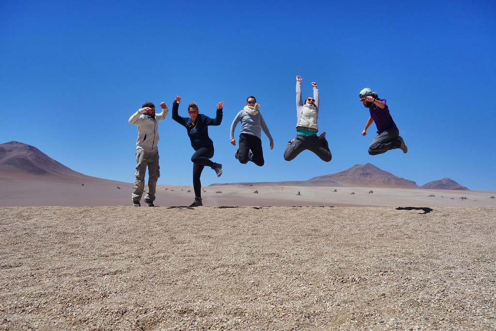 Uyuni - Desert de Salvador Dali - Jump 2