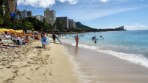 Waikiki Beach to Diamond Head