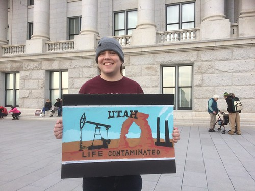Standing with Bears Ears
