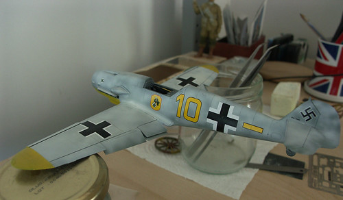 Peinture en cours Bf109G-2 Charlymic