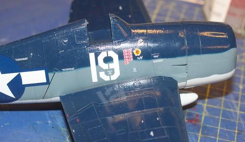 """Grumman F6F-3 Hellcat, """"Vit 19 Vraciu"""", Eduard 1/48 - Sida 3 24319497598_b30391c4d1"""