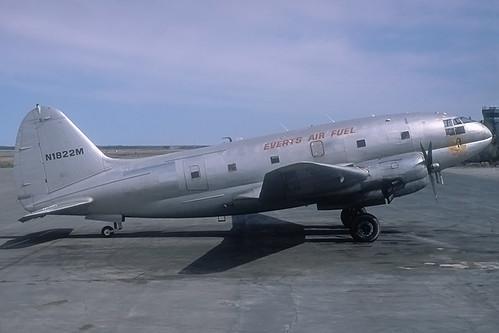 N1822M   Curtiss C-46F   Everts Air Fuel