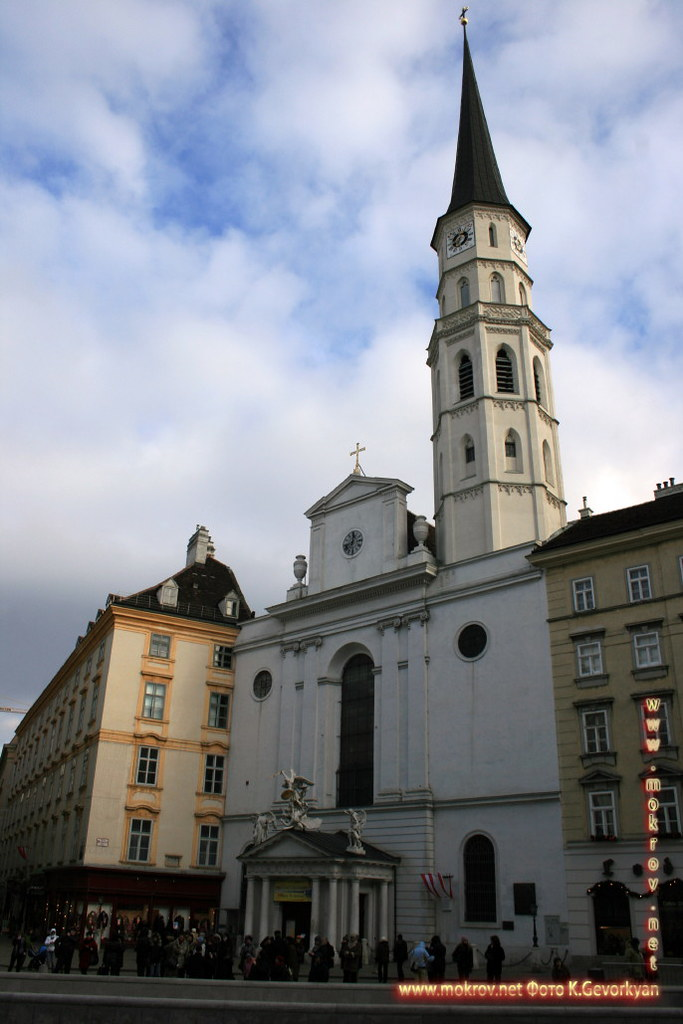 Город Вена, столица Австрии фото достопримечательностей