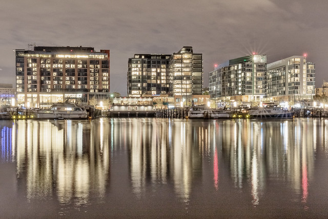 District Wharf at Night