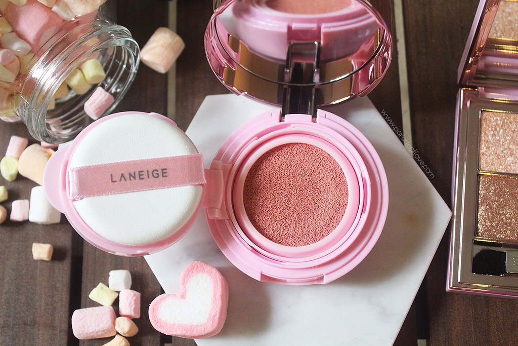 LANEIGE Delights Pop - Cushion Blusher Roly Pink Pop 02