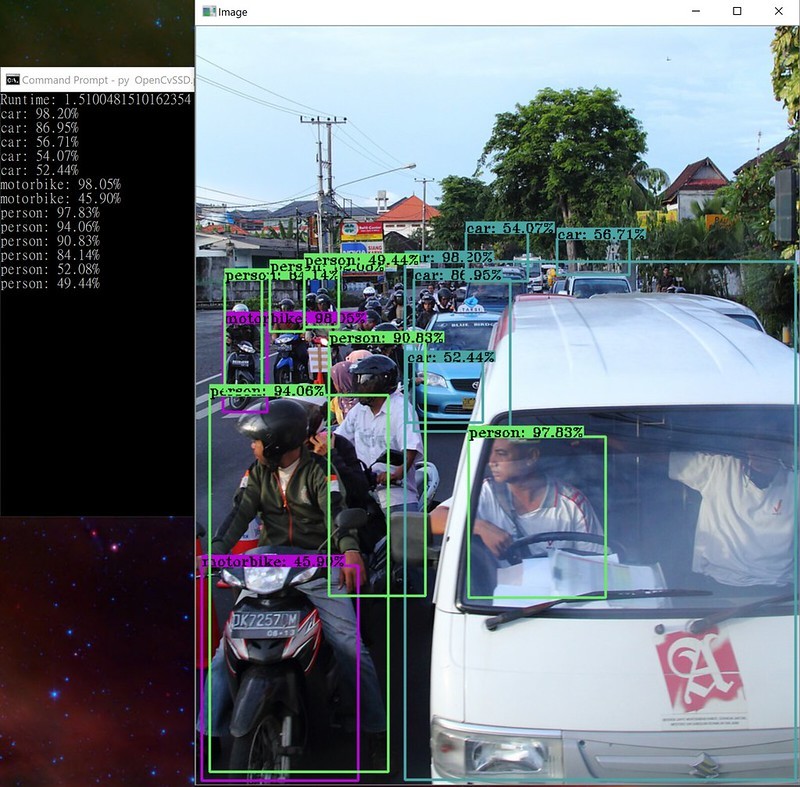 after dusk  before dawn  opencv dnn speed compare in