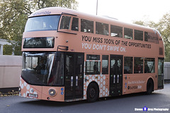 Wrightbus NRM NBFL - LTZ 1159 - LT159 - Bumble - Aldwych 9 - RATP Group London - London 2017 - Steven Gray - IMG_5584