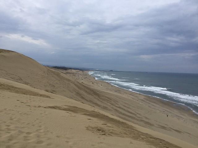 鳥取砂丘+日本海2
