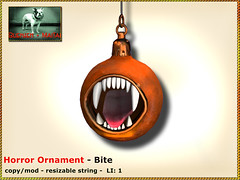 Bliensen - Horror Ornament - Bite