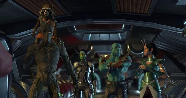 Les gardiens de la galaxie Episode 5 - Le discours