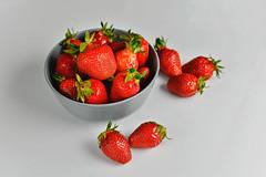 Erdbeeren in einer Schale