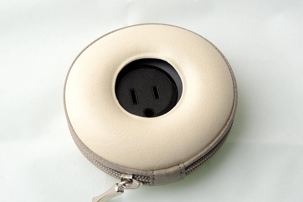 甜甜圈多孔延伸插座附USB*2