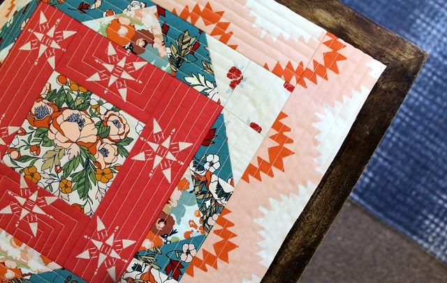 AGF Moroccan Quilt Block in Love Story