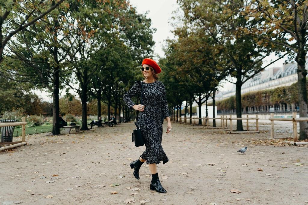 The Little Magpie Accessorize star print midi dress