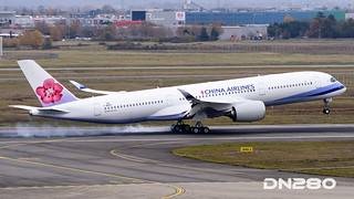 China Airlines A350-941 msn 162