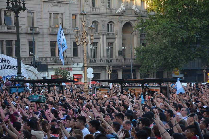 #YomarchoporJesus Buenos Aires 2017