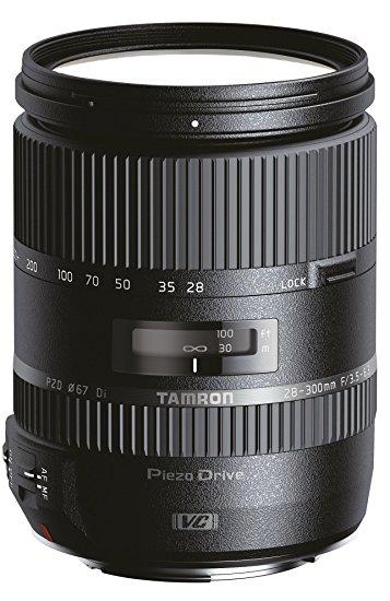 Tamron 28-300mm f:3.5-6.3 Di VC PZD Lens for Canon