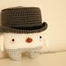 Little Dapper Snowman amigurumi