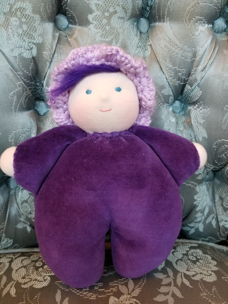 Snuggle Baby #32 - Purple