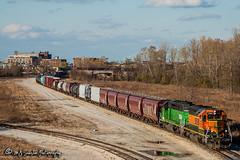 BNSF 7306 | EMD SD40-2 | CN Memphis Subdivision